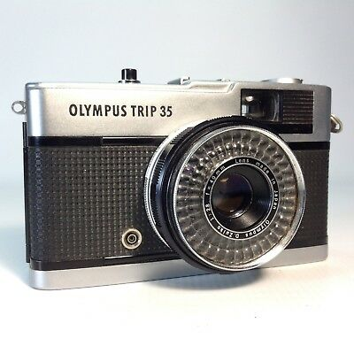Vintage OLYMPUS TRIP 35 CAMERA 35mm Film Camera with Original Instructions