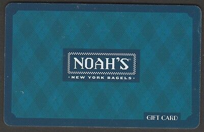 Noah's no value collectible gift card mint #10 Blue