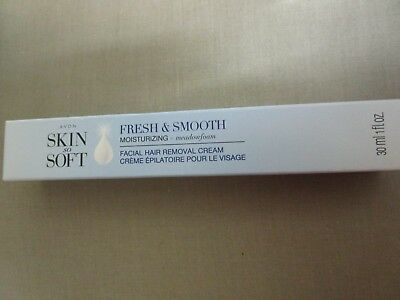 Avon Skin So Soft Fresh and Smooth Moisturising Facial Hair Removal Cream