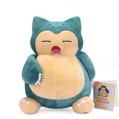 Pokemon Snorlax Plush Doll Figure Stuffed Toy 7 inch Collection Gift US Ship