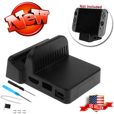 Mini Replacement Dock Case Cover with Screws For Nintendo Switch Docking Station