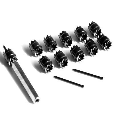 13pcs Cutter 3/8'' Double Sided Rotary Spot Weld Remover Drill Bits Cut Welding