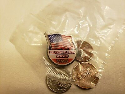 Waffle House Veteran's Day Pin   New   Free Shipping  Volume Discounts