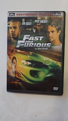DVD  Fast and Furious Vin Diesel, Paul Walker