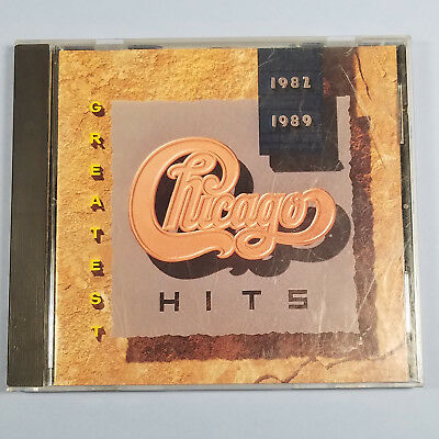 Greatest Hits 1982-1989 by Chicago (CD, 1989) kfp1