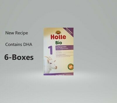 Holle Organic Goat Milk Formula Stage 1 400g FREE SHIPPING 6 BOXES EXP-9/2020