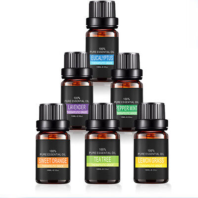 10ml Pure Natural Aromatherapy Essential Oil Fragrance Aroma Therapeutic Supply