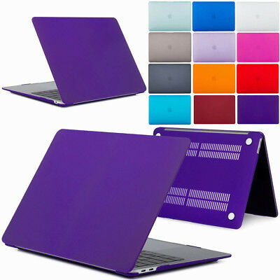 "For 2018 A1932 MacBook Air 13"" Clear Matte Shockproof Case Cover Rugged Shell"