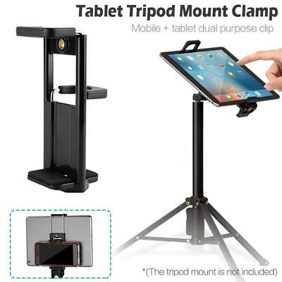 Universal Tablet Tripod Mount Adapter Clamp Holder For IPad 2 3 4 Air Air 2 UK