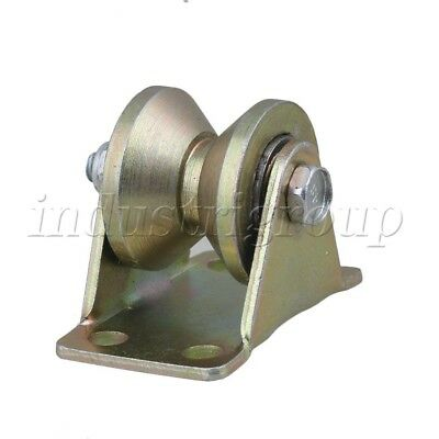 """Steel Groove Rigid Caster Wheel 1.2"""" Dia 45# for Industrial Machines Carts 200KG"""