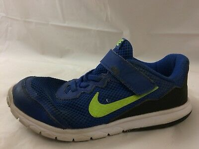 9ccf43797e5ab Nike Flex Experience 4 Boys 1 Youth Sneakers Running Shoes Blue Green  749809-471