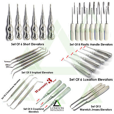 Surgical Tooth Root Elevators Luxation Instruments Coupland Elevators Dental Lab