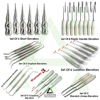 Tooth Extracting Instruments Luxation Root Elevators Periotome Surgical CE