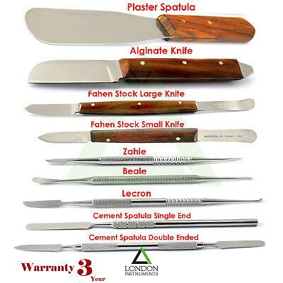 Dental Wax Carving Modelling Sculpting Tools For Mixing Knives Stainless Steel