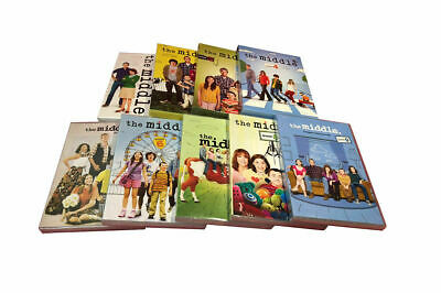 The Middle Complete Series Seasons 1-9 (24 Disc DVD Set) 1 2 3 4 5 6 7 8 9 New