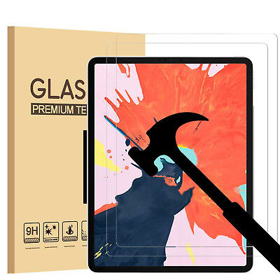 OZ New Tempered Glass Screen Protector for Apple iPad Pro 12.9 Inch 3rd Gen 2018