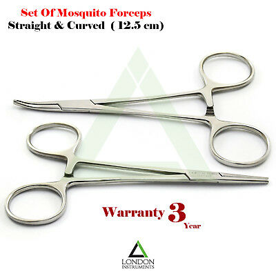 Mosquito Forceps Hemostat Haemostatic Clamp Halsted Artery Surgical Tools New