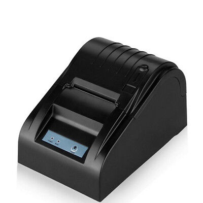 58mm ESC POS Thermal Receipt Printer Auto Cutter USB  High Speed+Free Paper Roll