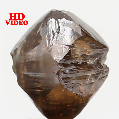 Natural Loose Diamond Brown Color Rough I1 Clarity 4.00 MM 0.61 Ct L6378