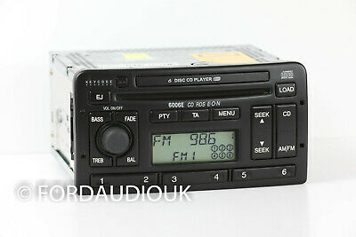 Refurbished Ford 6006E 6*Cd / Radio. Could Replace 6000 1*Cd/Radio