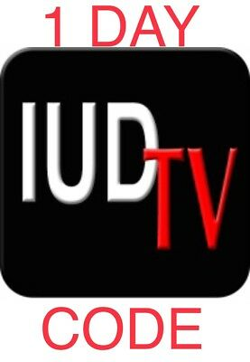 IUDTV IPTV LIVE TV+VOD ANDROID BOX,PHONE, MAG25X, ENIGMA2, M3U, TV 1 Day Test