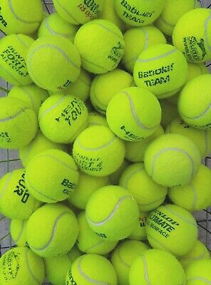 15 Used Tennis Balls For Dogs / Games - Machine Washed - Low Price !