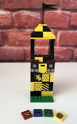 Lego Harry Potter Quidditch Hufflepuff Stand From Set 75956