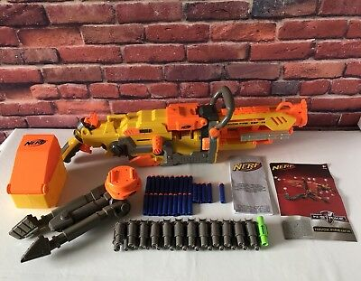 Nerf Havoc Fire EBF 25 Motorised Machine Dart Gun c/w Instructions - Darts -