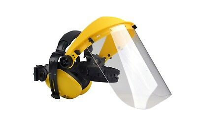 Face Shield/visor/mask With Ear Muffs For Strimmer, Brushcutter, Power Tool Ppe