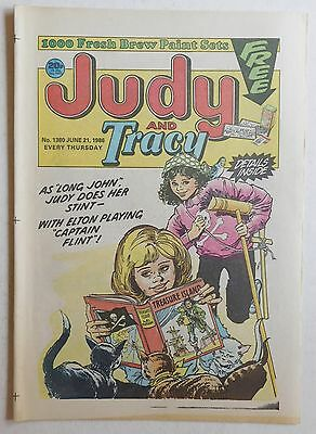 JUDY & TRACY Comic #1380 - 21st June 1986
