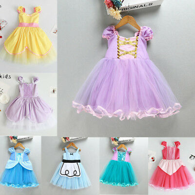 Cinderella baby dress costume for girls for special occasion birthday party PD10