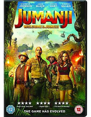Jumanji Welcome to The Jungle DVD. Sealed with free delivery
