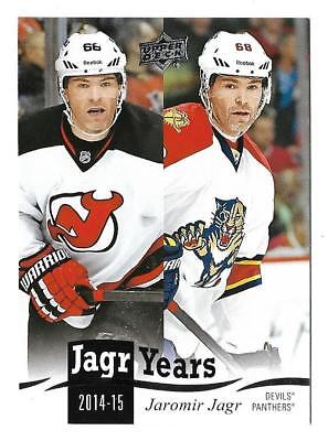 *2018-19 Upper Deck Jagr Years Jaromir Jagr #jj-21*