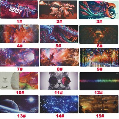 Large Extended XXL Gaming Mouse Pad 900x400mm Desk Mat for PC Laptop Keyboard US