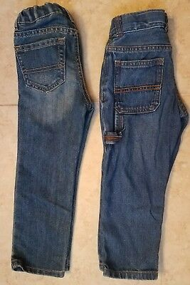 Carters & The Children's Place Toddler Boys Denim Jeans Skinny Straight Sz 3T