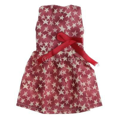 For American Girl Doll Clothes Sleeveless Skirt Girl Doll Clothing Accessory