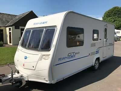 2010 Bailey Ranger GT60 500/5 5 Berth Awning Accessorie Availabl Stock Clearance