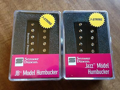 Seymour Duncan SH-4 JB SH-2N Jazz Hot Rodded Humbucker Pickup Set 7 Seven String