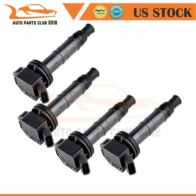 pack of 4  Ignition Coil UF333 for Toyota Lexus Camry Scion Pontiac 2.4L 2.0L
