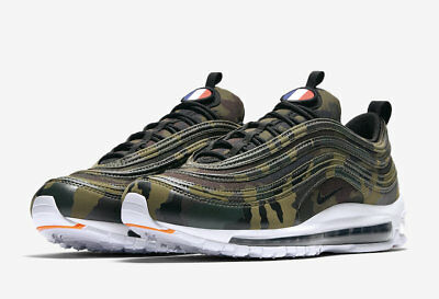 detailing bce58 58aca Nike Air Max 97 Premium QS Camo France UK Size 10 US 11 Brand New In