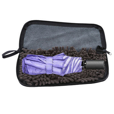 Umbrella Covers Portable Super Fine Fibers Cloths Storage Bag Water Absorption G