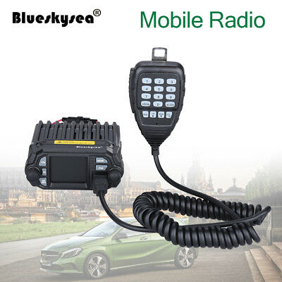 KT-8900D 200CH Dual Band VHF UHF Color LCD Quad-Standy Mobile Radio Transceiver