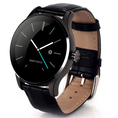 K88H MTK2502 Smart Watches Bluetooth IP54 Wristwatch 64MB+128MB for IOS/Android