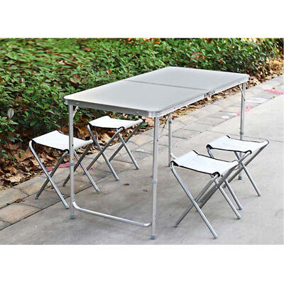 US Stock Folding Table Portable Indoor Outdoor Picnic Party Dining Camp Tables
