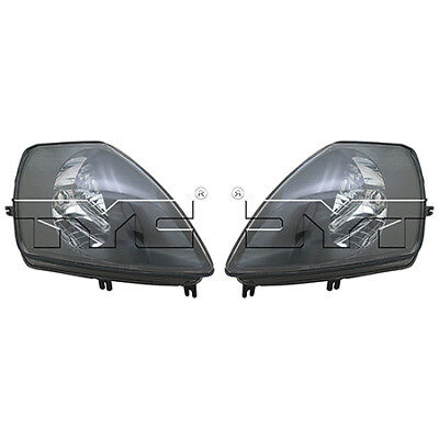 For 2000-01//2002 Mitsubishi Eclipse Coupe Head Lights Driver /& Passenger Side