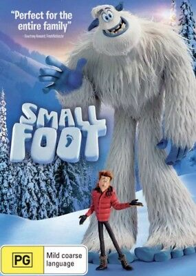 Smallfoot Dvd (2018) New & Sealed- Free Postage! Region 4