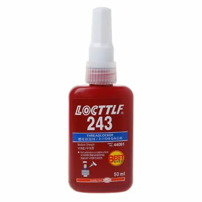 243 Medium Strength Thread Adhesive Lock Glue Multi-purpose Use 50ML