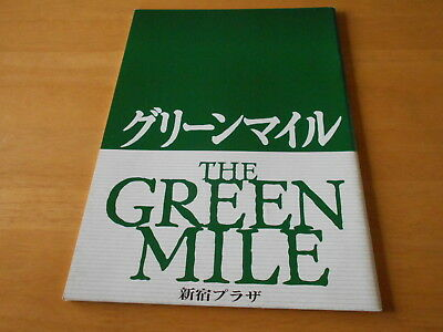 The Green Mile Movie Program Japan 2000 USED Tom Hanks David Morse Bonnie Hunt