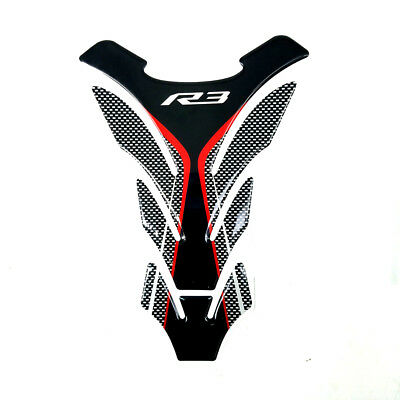 Protector Gas Fuel Tank Pad Decal Grey Epoxy Sticker for Yamaha YZF R3