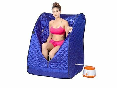 Portable Therapeutic Steam Sauna Spa Full Body Slim Detox Weight Loss Indoo